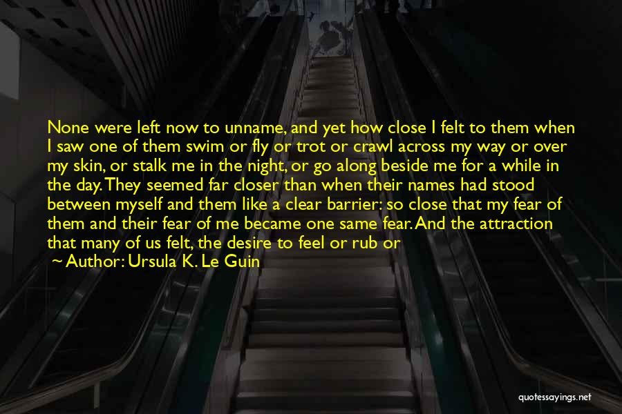 Desire To Fly Quotes By Ursula K. Le Guin