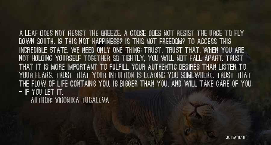Desire To Fly Quotes By Vironika Tugaleva