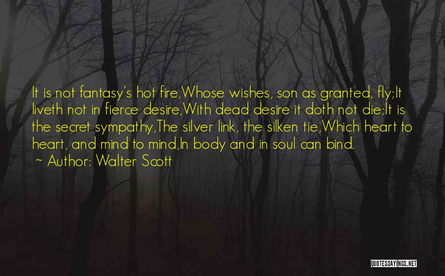 Desire To Fly Quotes By Walter Scott