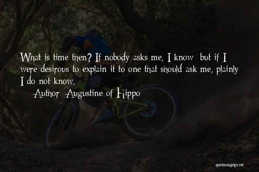 Desirous Quotes By Augustine Of Hippo