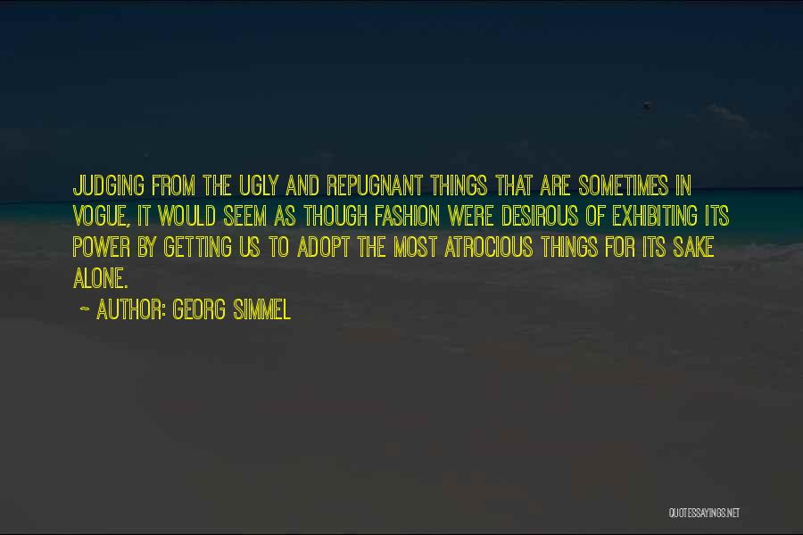 Desirous Quotes By Georg Simmel