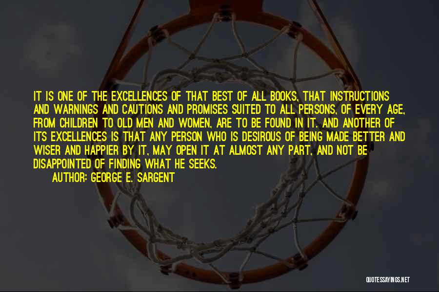 Desirous Quotes By George E. Sargent
