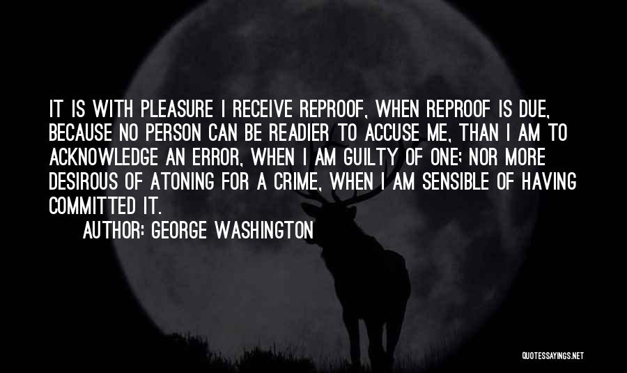 Desirous Quotes By George Washington