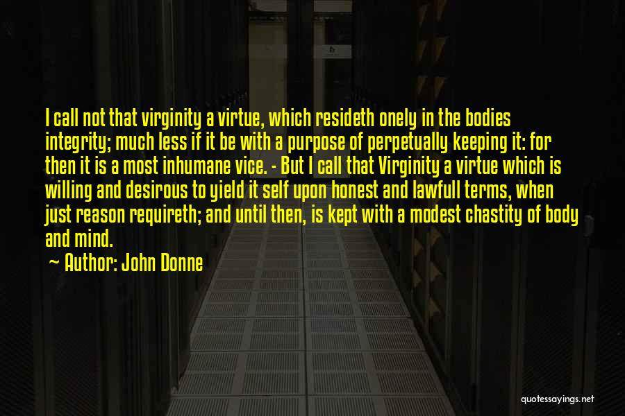 Desirous Quotes By John Donne