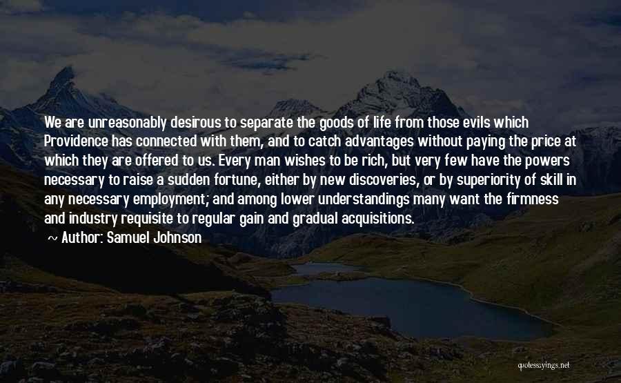 Desirous Quotes By Samuel Johnson