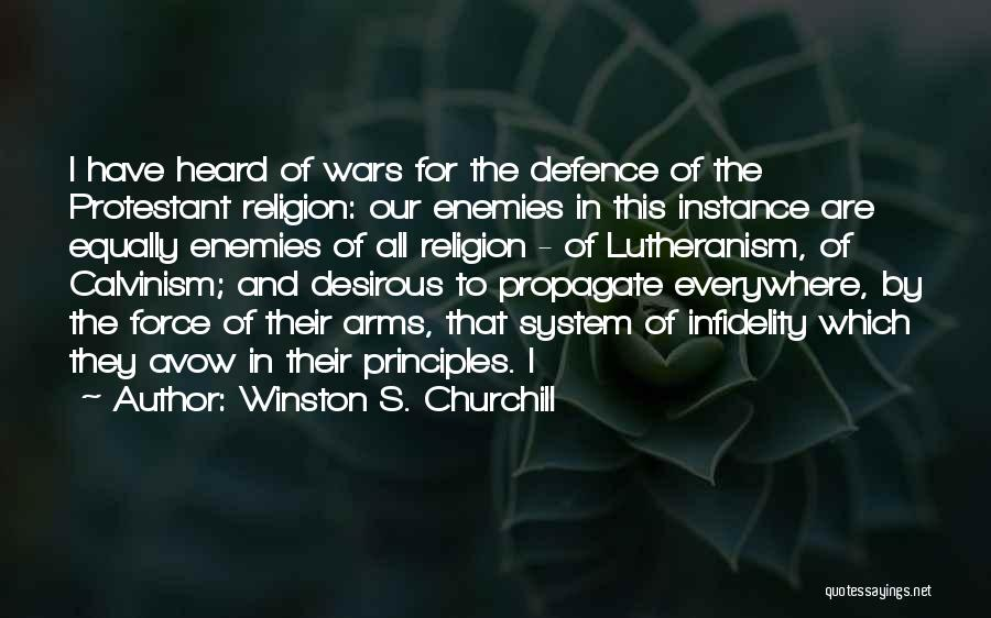 Desirous Quotes By Winston S. Churchill