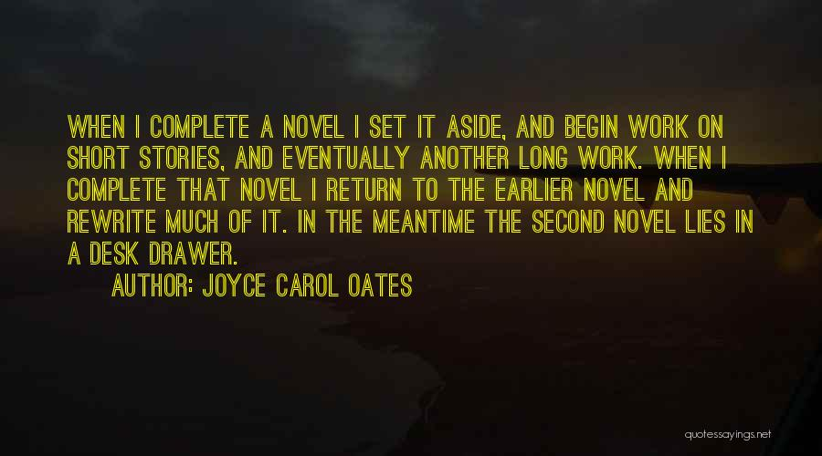 Desk Set Quotes By Joyce Carol Oates