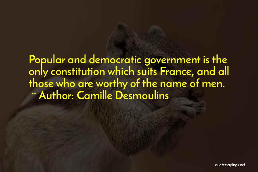 Desmoulins Quotes By Camille Desmoulins