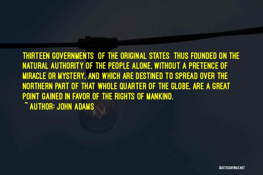 Destined For Great Things Quotes By John Adams