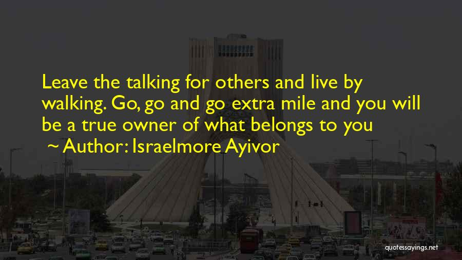 Destiny And Success Quotes By Israelmore Ayivor