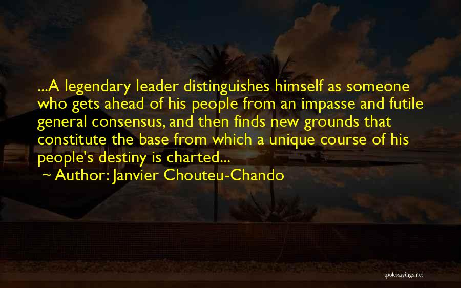 Destiny And Success Quotes By Janvier Chouteu-Chando