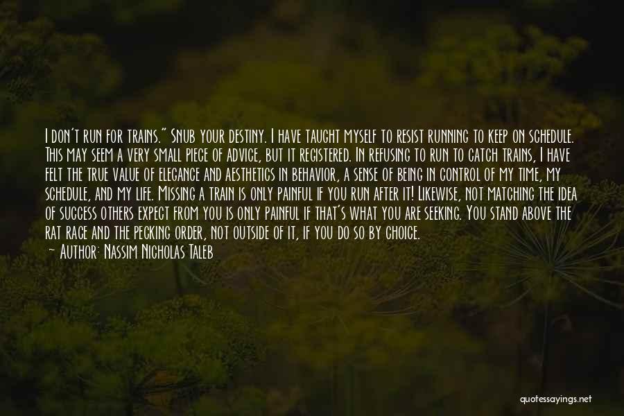 Destiny And Success Quotes By Nassim Nicholas Taleb