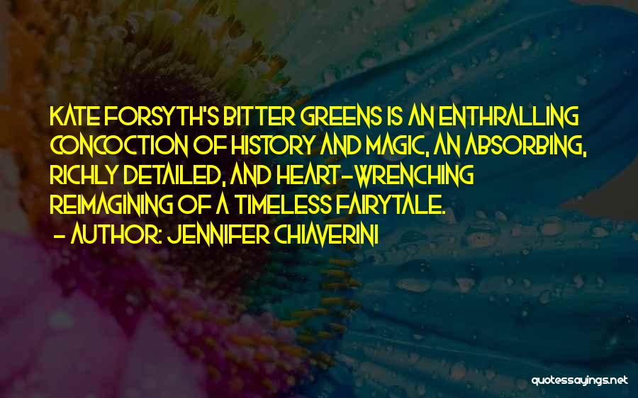 Detailed Quotes By Jennifer Chiaverini