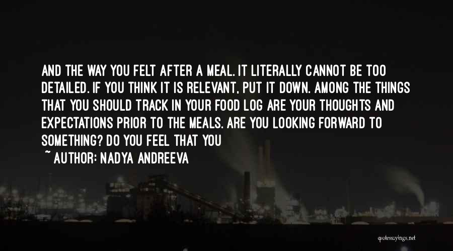 Detailed Quotes By Nadya Andreeva