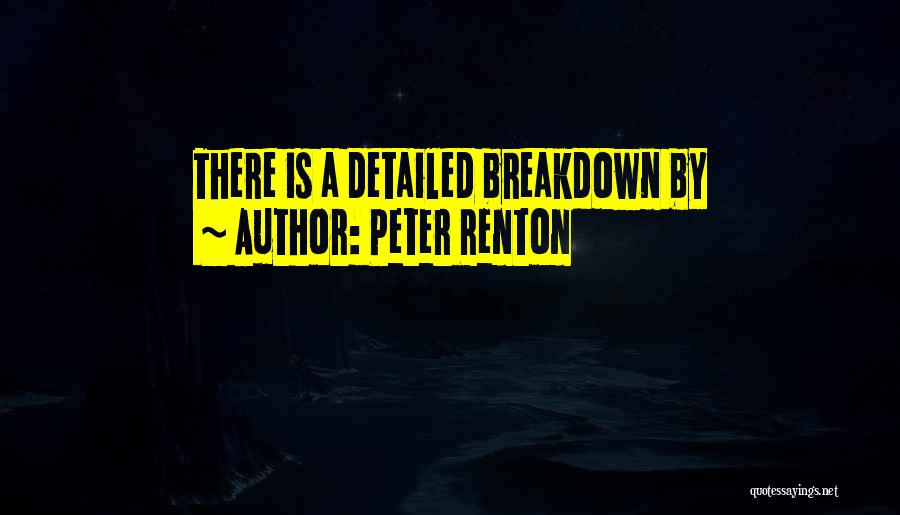 Detailed Quotes By Peter Renton