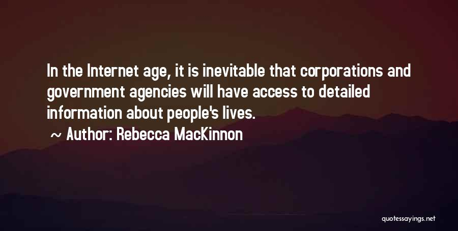 Detailed Quotes By Rebecca MacKinnon
