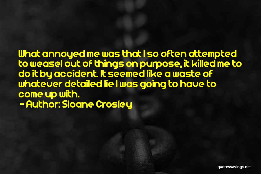 Detailed Quotes By Sloane Crosley