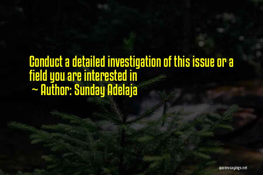 Detailed Quotes By Sunday Adelaja