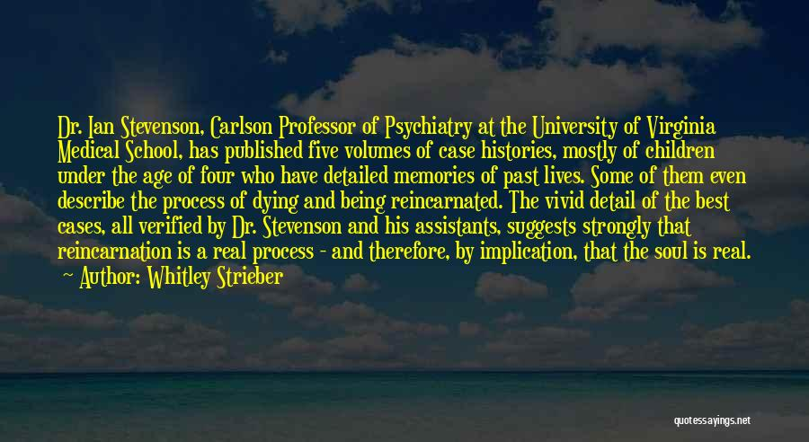 Detailed Quotes By Whitley Strieber