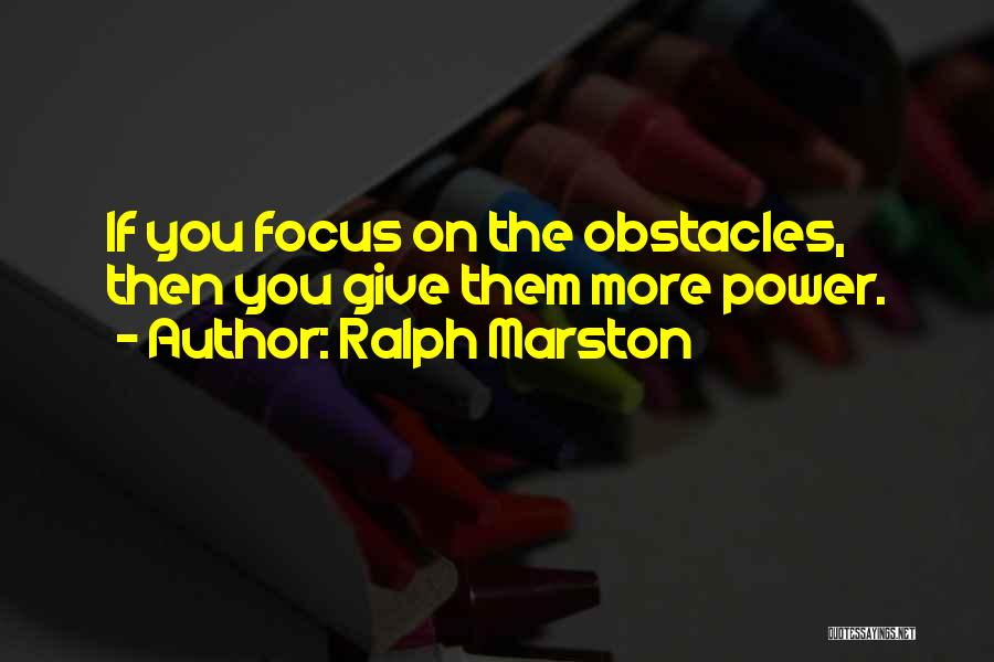 Determination And Not Giving Up Quotes By Ralph Marston