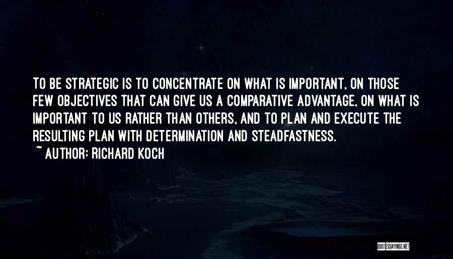 Determination And Not Giving Up Quotes By Richard Koch