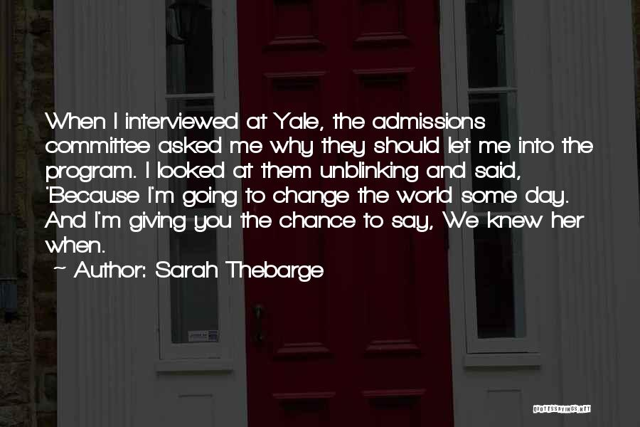 Determination And Not Giving Up Quotes By Sarah Thebarge