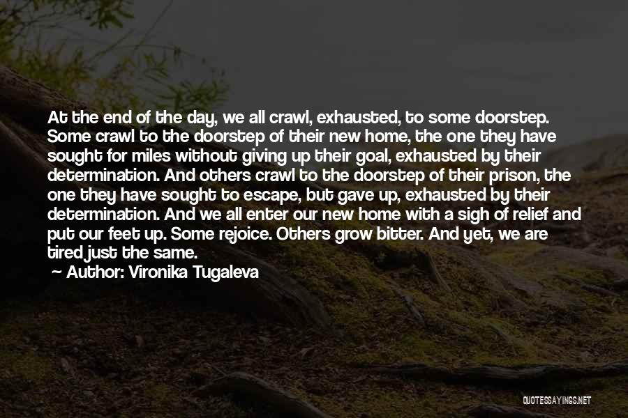 Determination And Not Giving Up Quotes By Vironika Tugaleva