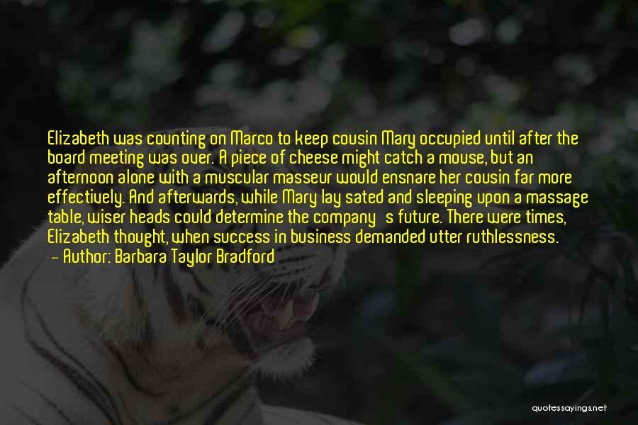 Determine Success Quotes By Barbara Taylor Bradford