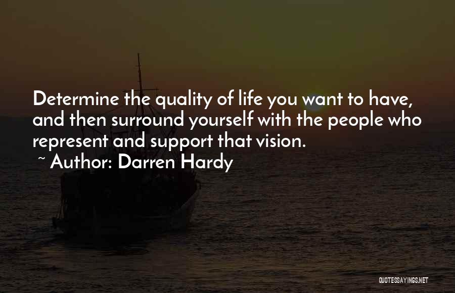 Determine Success Quotes By Darren Hardy