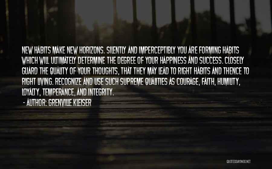 Determine Success Quotes By Grenville Kleiser