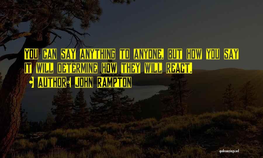 Determine Success Quotes By John Rampton
