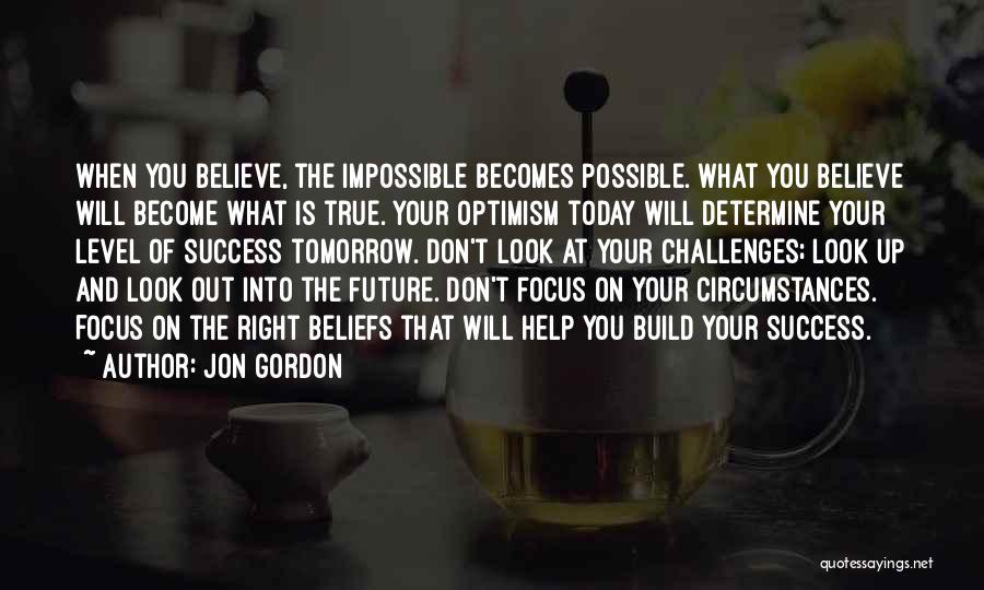 Determine Success Quotes By Jon Gordon