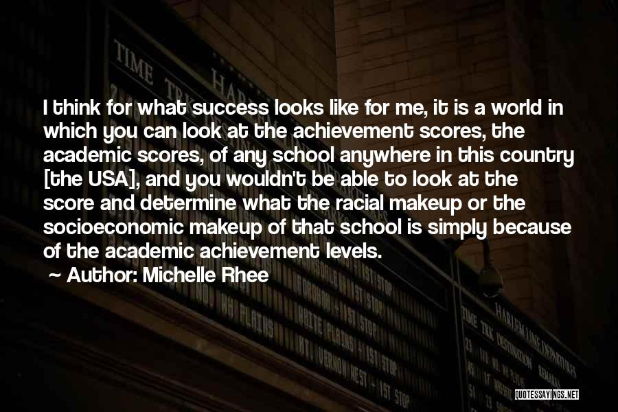 Determine Success Quotes By Michelle Rhee