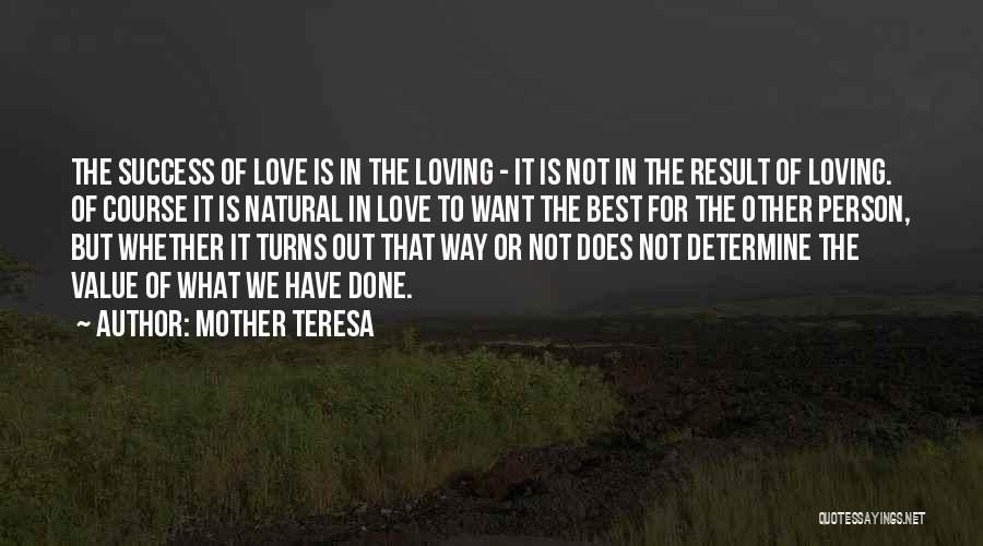 Determine Success Quotes By Mother Teresa