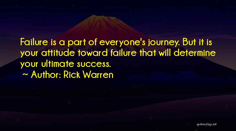 Determine Success Quotes By Rick Warren