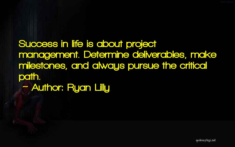 Determine Success Quotes By Ryan Lilly