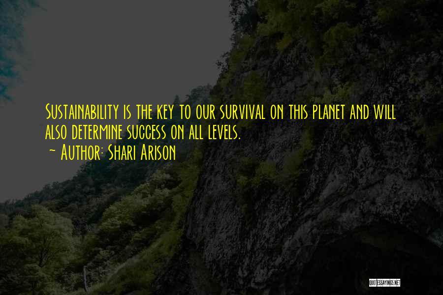 Determine Success Quotes By Shari Arison