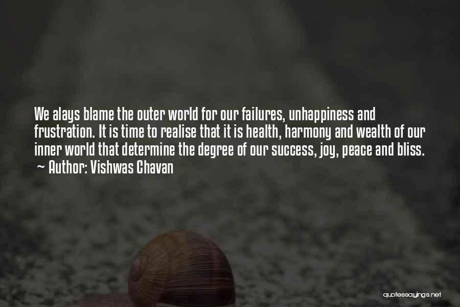 Determine Success Quotes By Vishwas Chavan