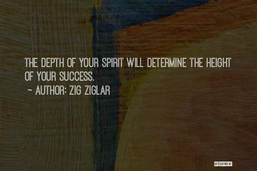 Determine Success Quotes By Zig Ziglar