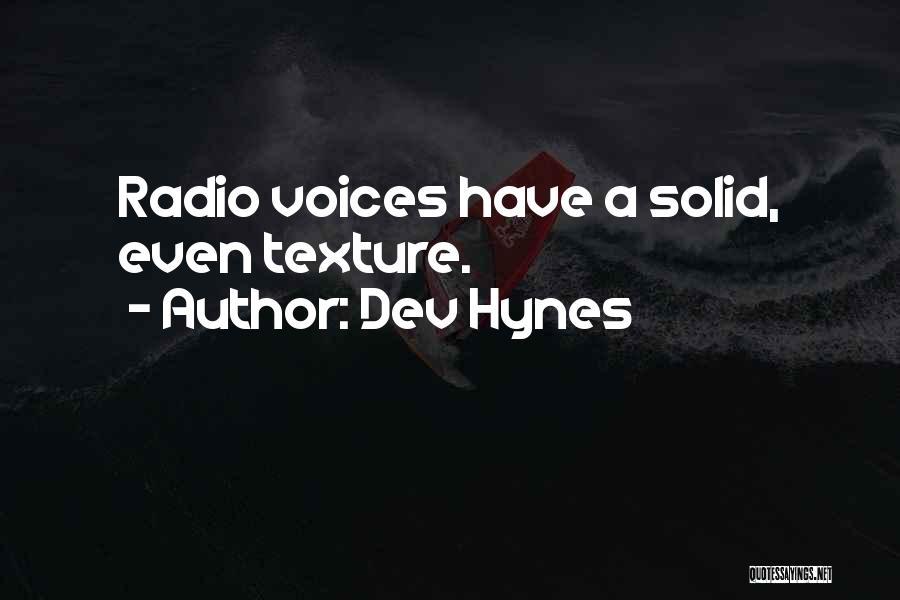 Dev Hynes Quotes 1659845