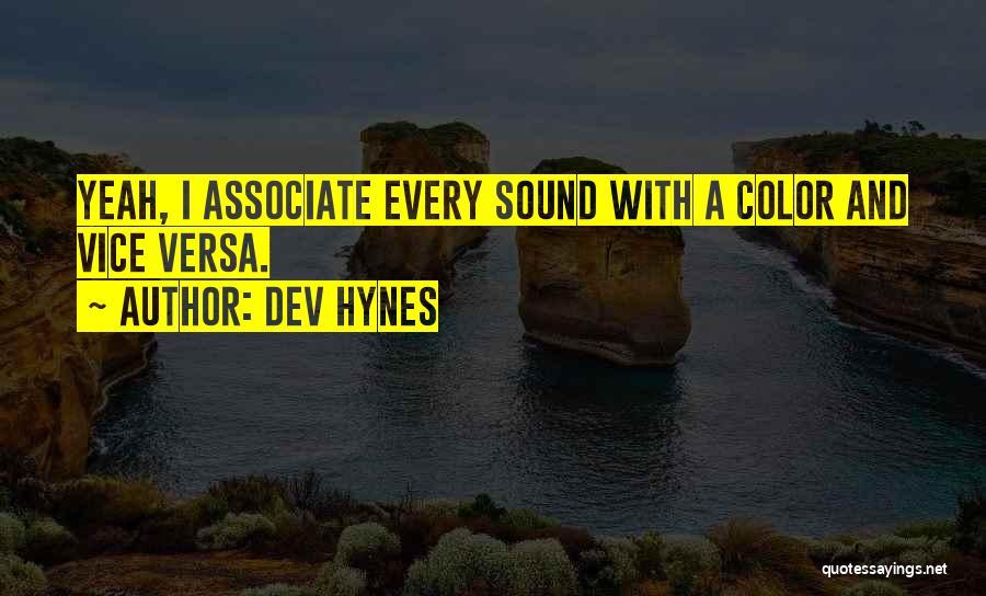 Dev Hynes Quotes 1744398