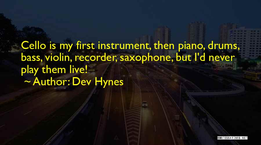 Dev Hynes Quotes 1752500