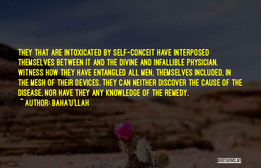 Devices Quotes By Baha'u'llah