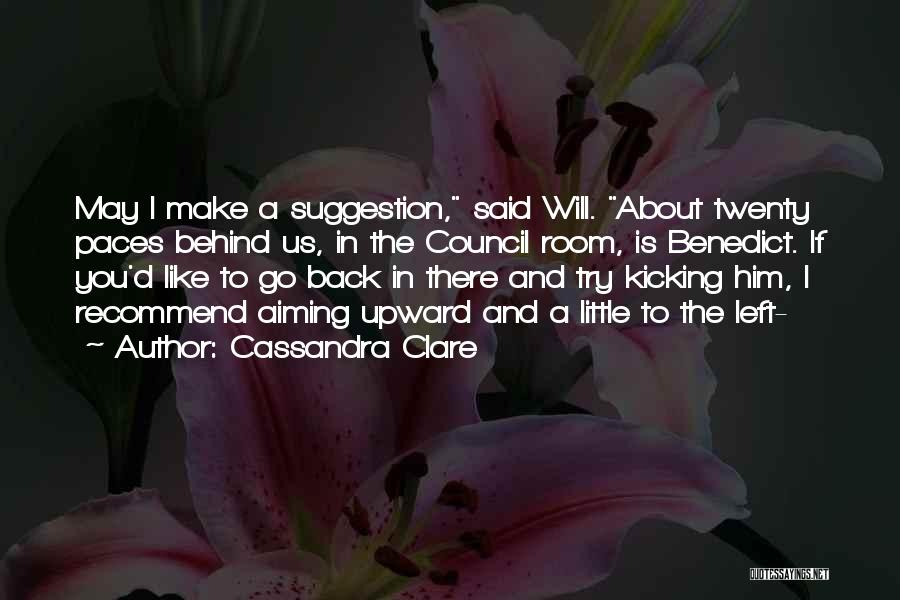 Devices Quotes By Cassandra Clare