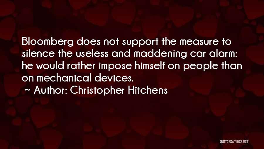Devices Quotes By Christopher Hitchens
