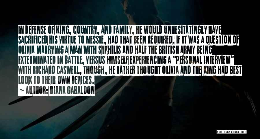 Devices Quotes By Diana Gabaldon