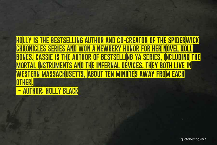 Devices Quotes By Holly Black