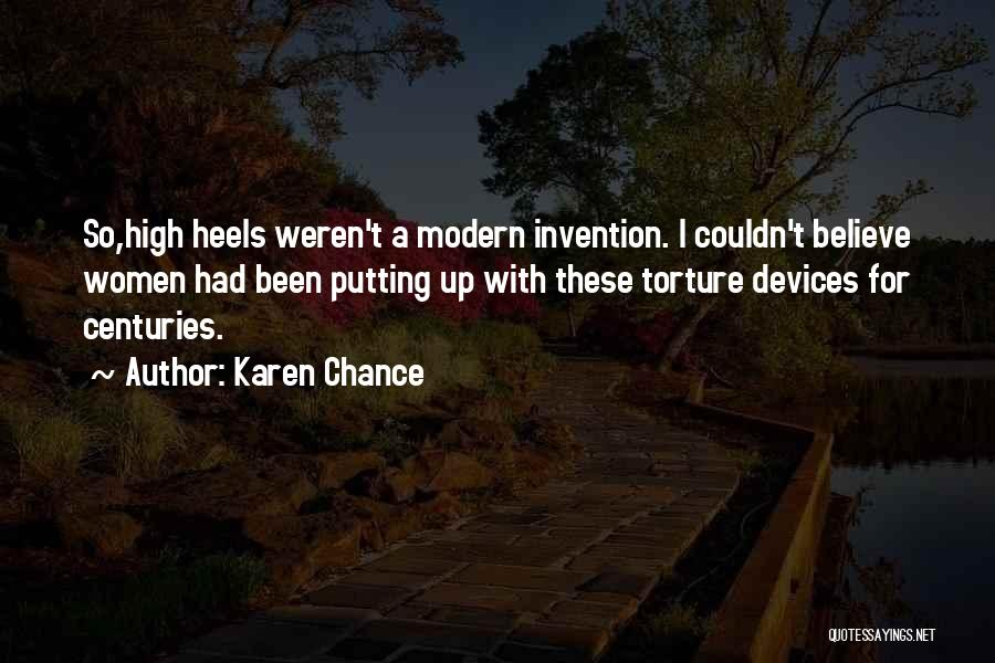 Devices Quotes By Karen Chance