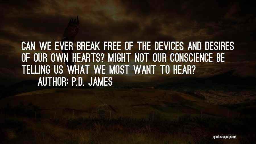 Devices Quotes By P.D. James