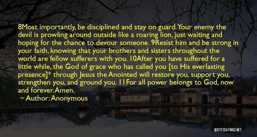 Devil Devour Quotes By Anonymous